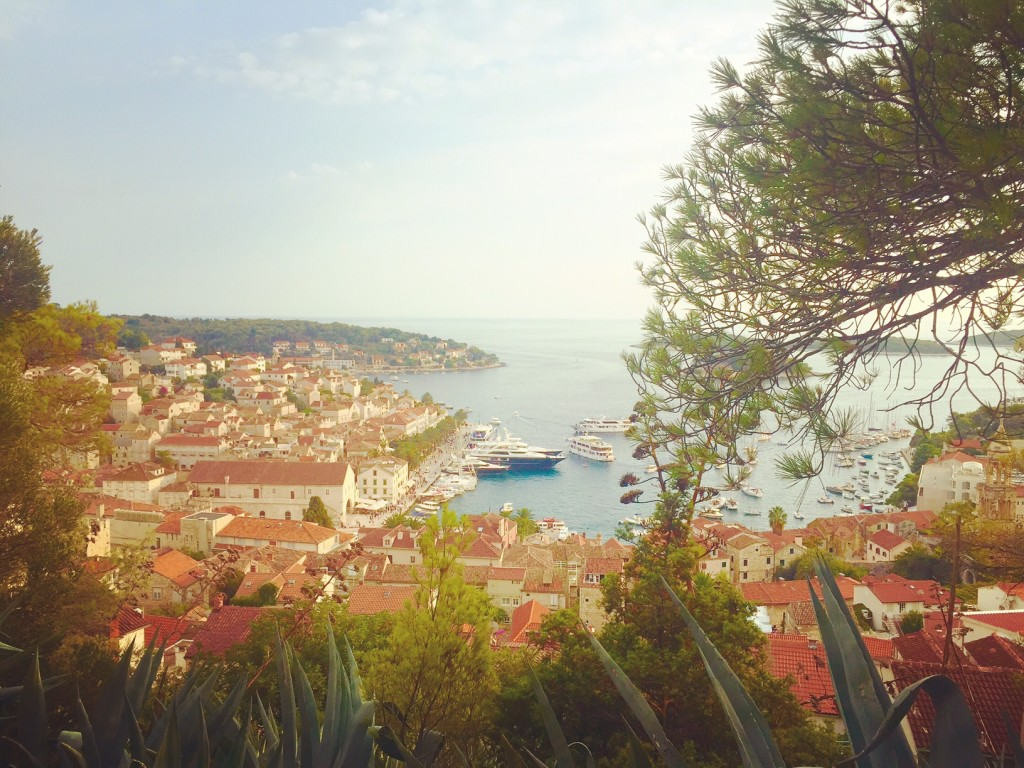 Views over Hvar Town