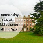 MIddlethorpe Hall and spa, York in winter