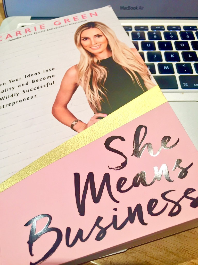 She Means Business review - Carrie Green