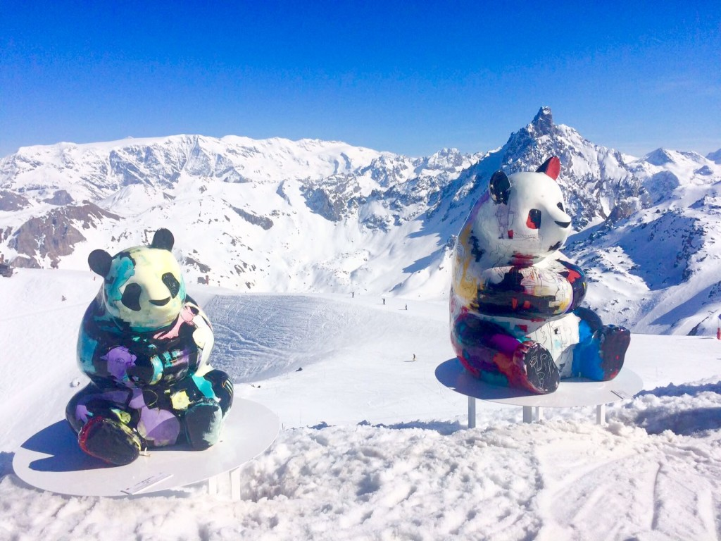 Courchevel 1850 pandas How to save money