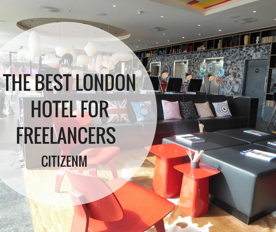 The best London hotel for freelancers - CitizenM
