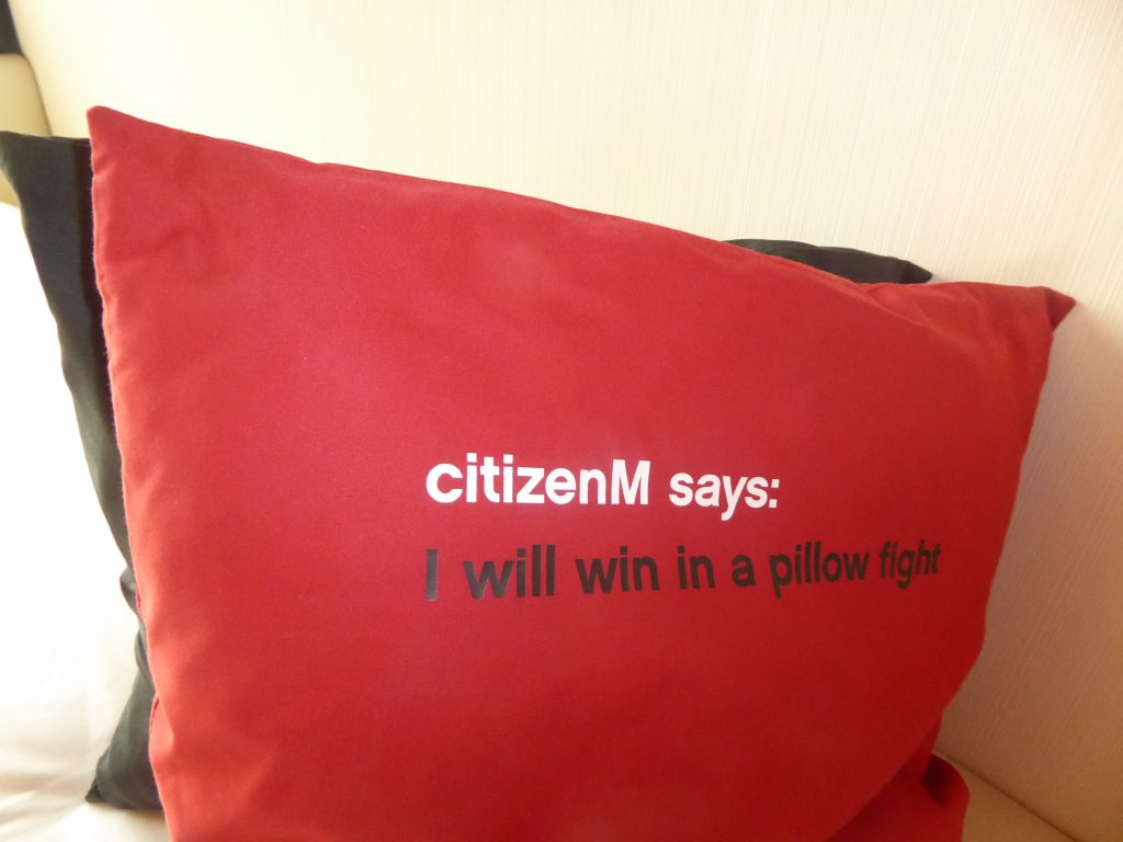 CitizenM hotel Shoreditch, London. Review