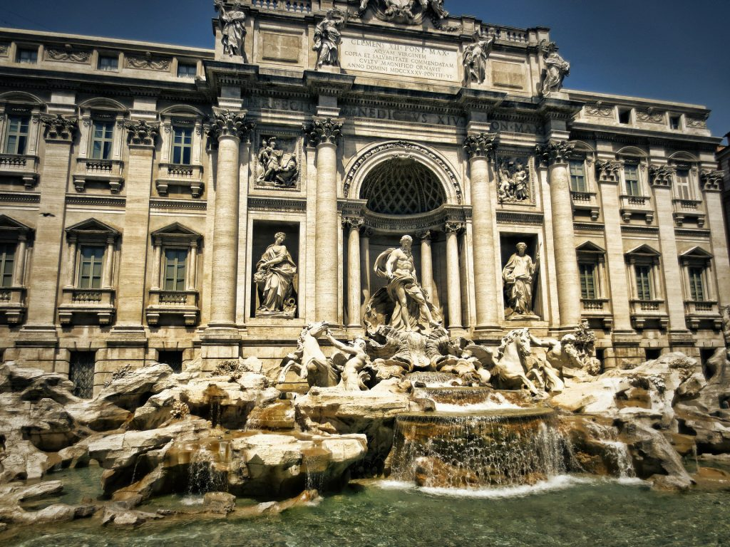 trevi-fountain, Roma, best of Italy