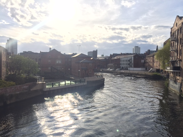 Leeds in the spring