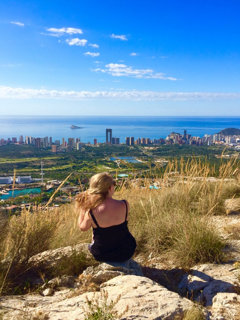 views across Benidorm