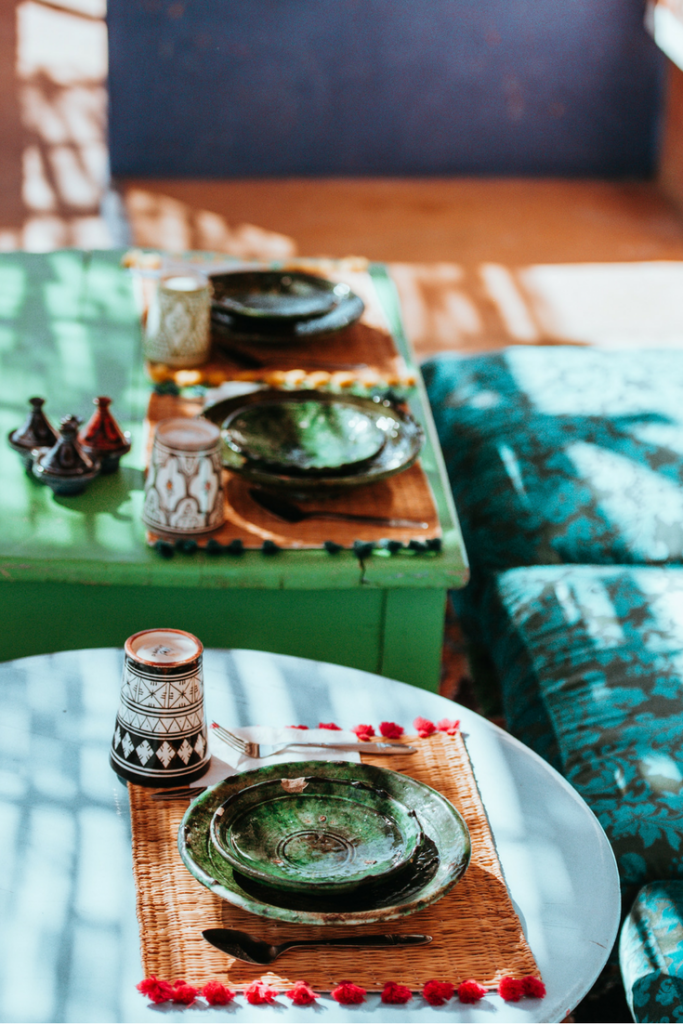5 Fantastic Holiday Ideas For Urban Travel; eating in Morocco