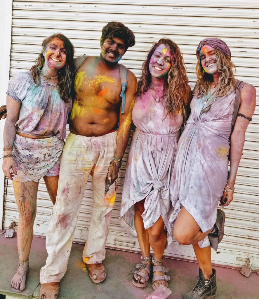 Holi festival in Pushkar - AFTER
