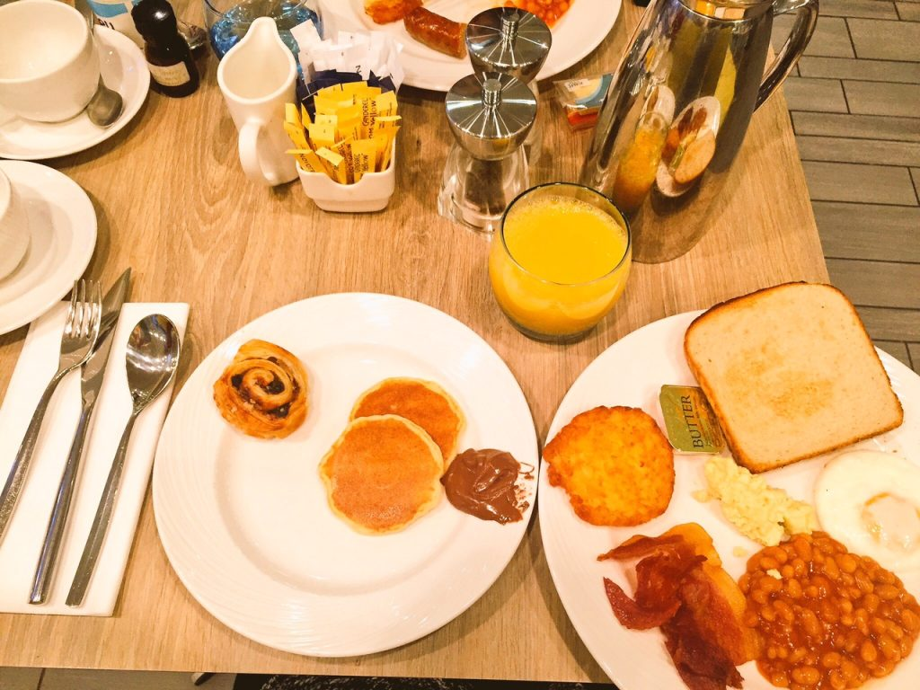 Breakfast at Accor Novotel, Manchester