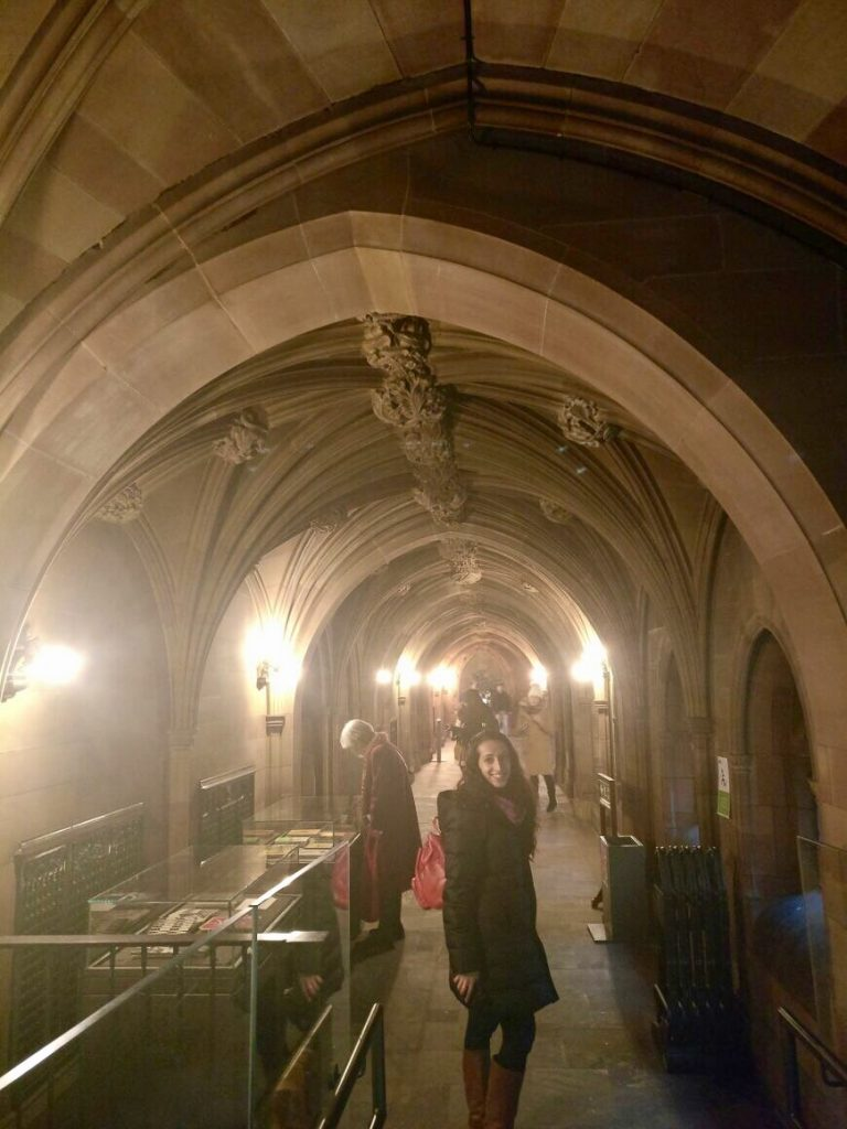 John Rylands library, Manchester