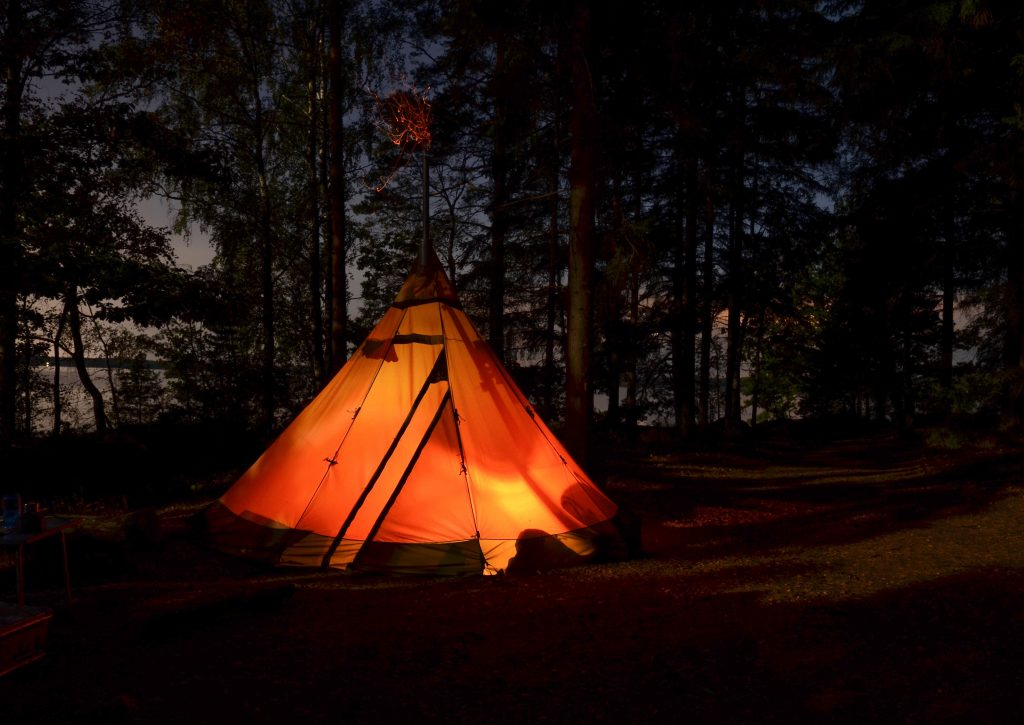 camping adventure fun hen party ideas