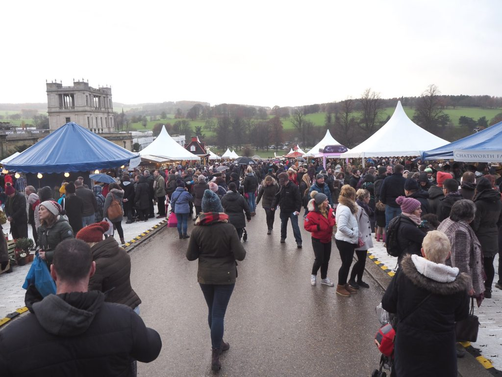 Chatsworth Christmas Market, Derbyshire