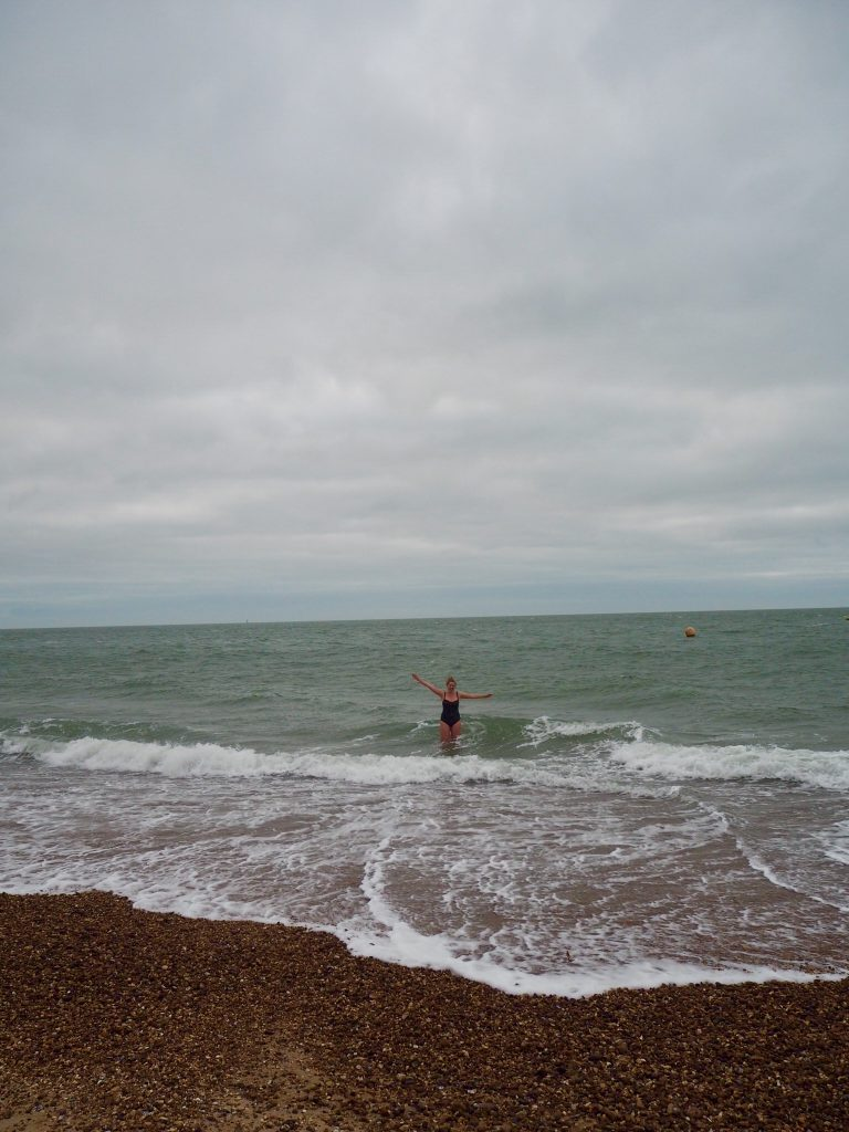 wild swimming in Southsea
