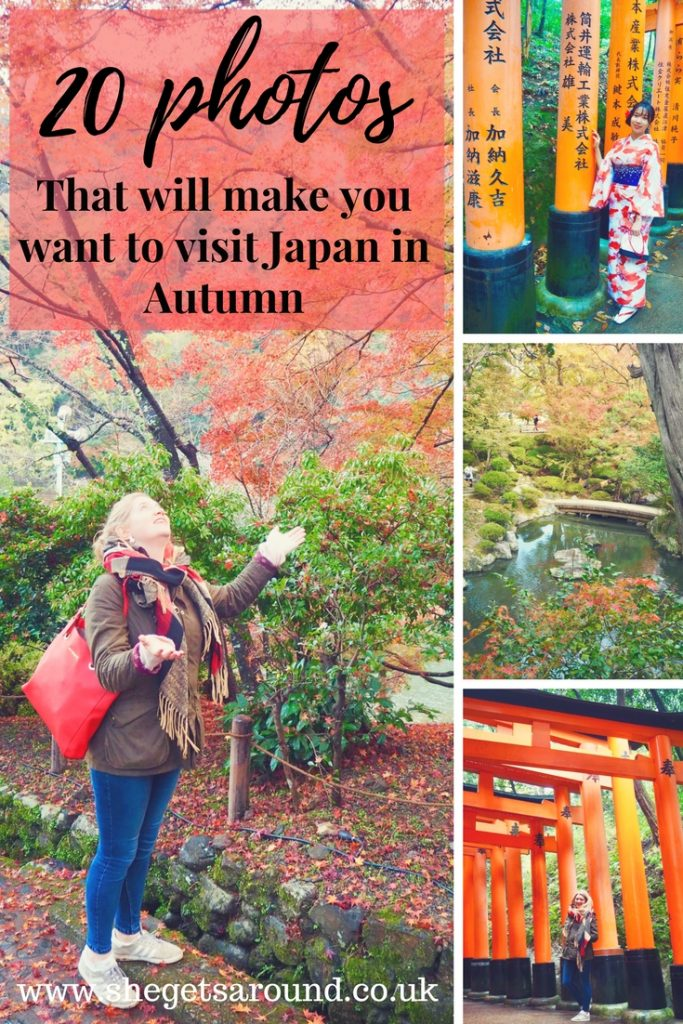 20 photos that will make you want to visit Japan in Autumn