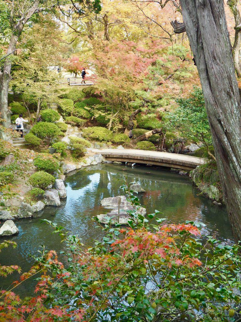 Momijidani garden in Wakayama Castle