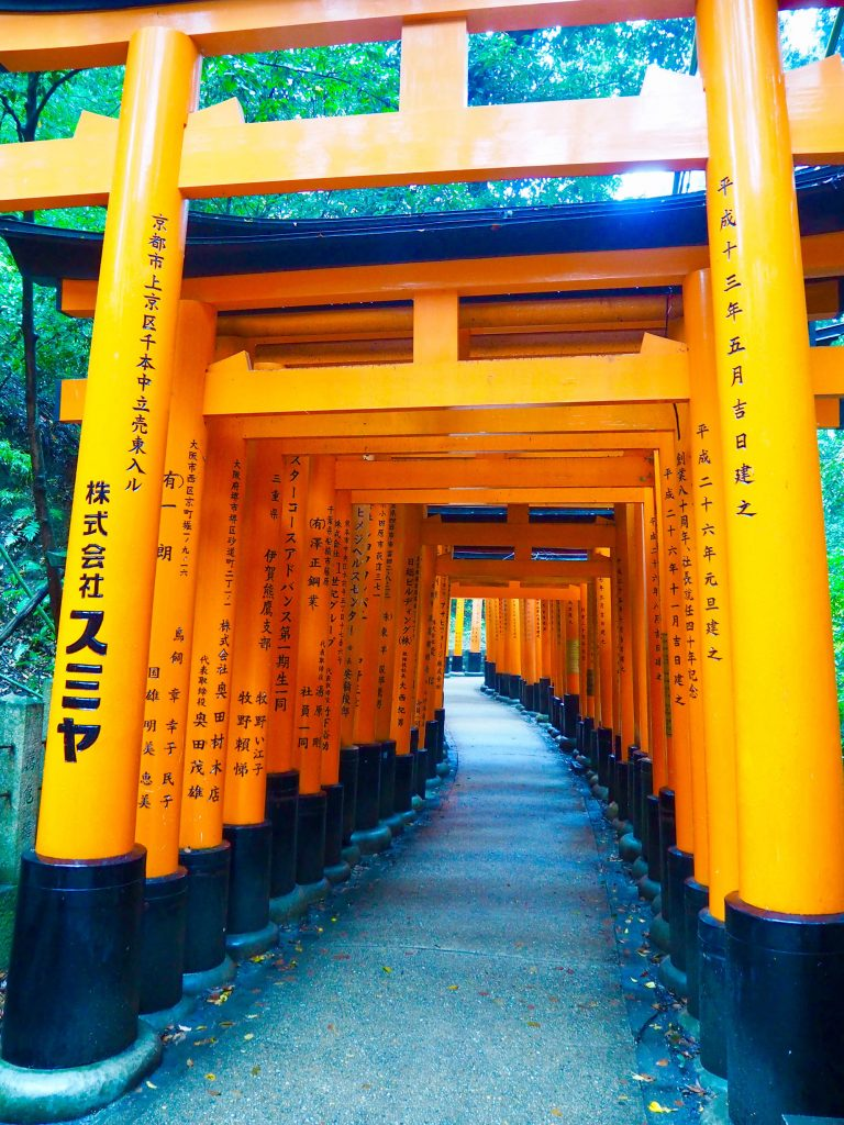 Fushimi Inari-taisha Shrine, Kyoto in Autumn