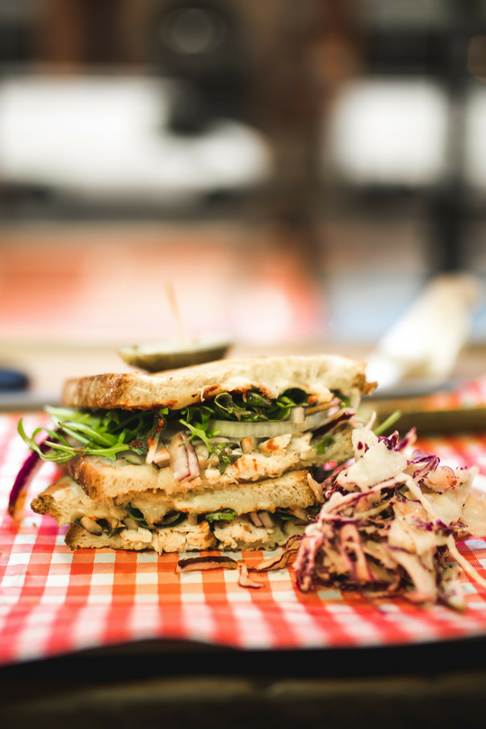 Gourmet Grilled Cheese - things to eat post travel inspiration manchester - uk travel blog