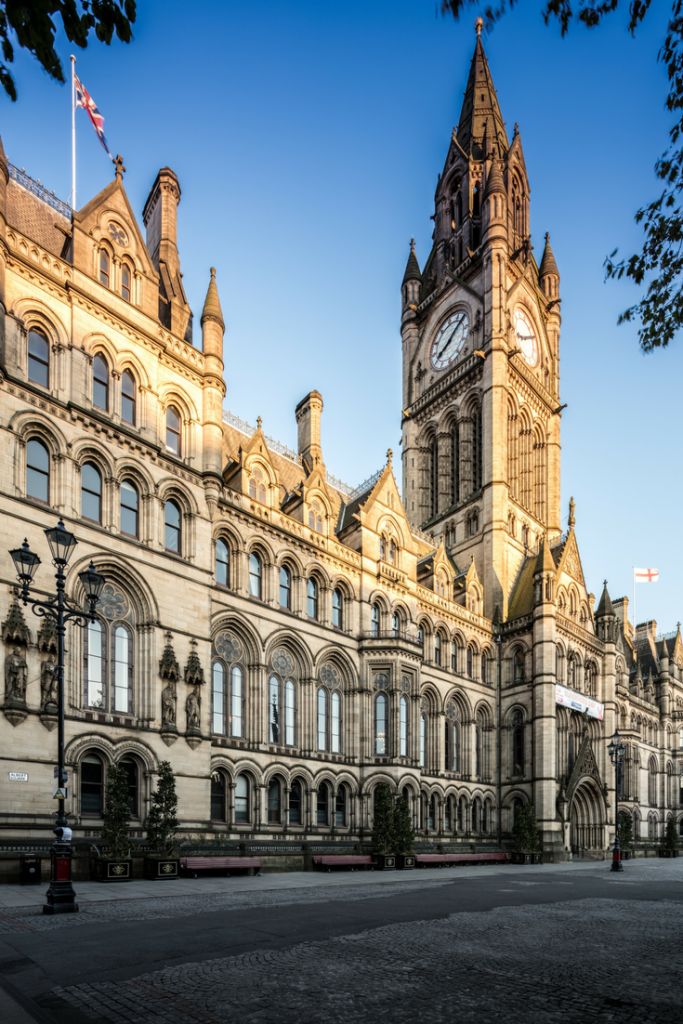 Manchester Town Hall - things to do post travel inspiration manchester - uk travel blog