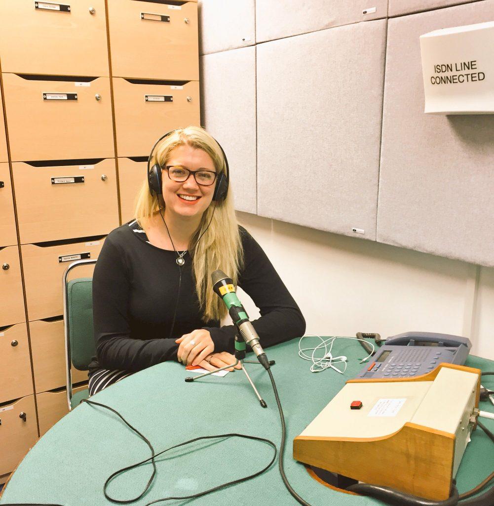 BBC Radio 5 live interview Jen Lowthrop