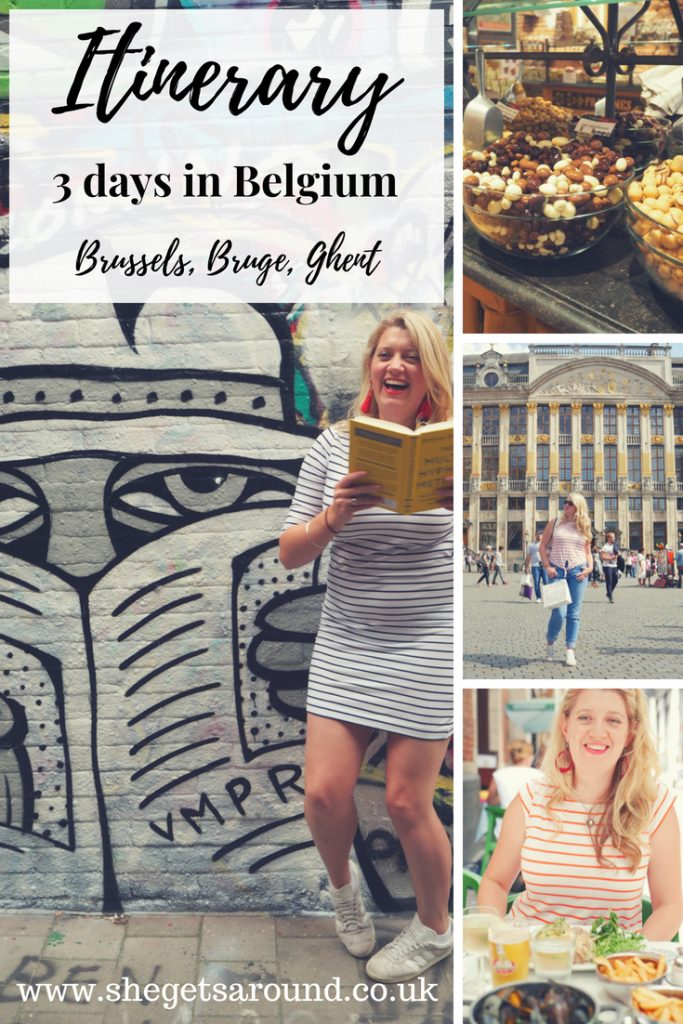 An itinerary for 3 days in Belgium - Brussels, Bruge and Ghent