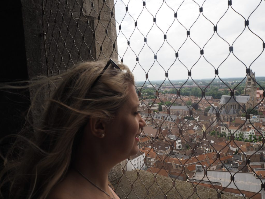 The Bruge Belfry - views from the top