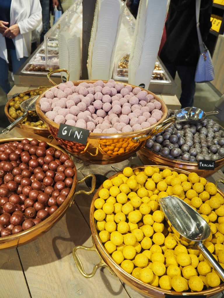 chocolates in Brussels