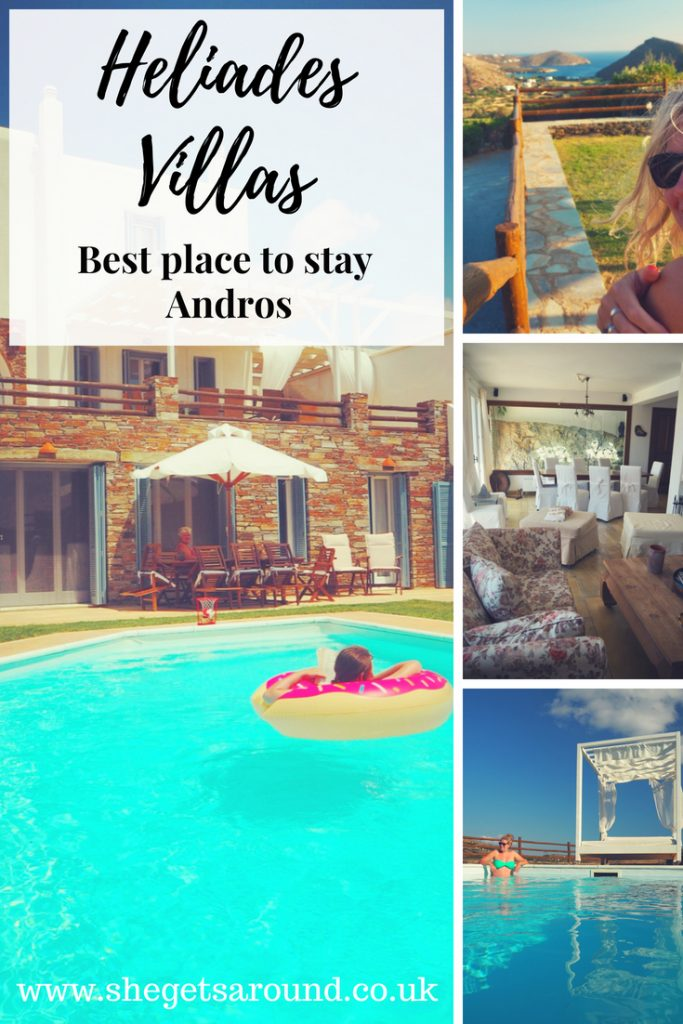 Heliades villas the best place to stay in Andros
