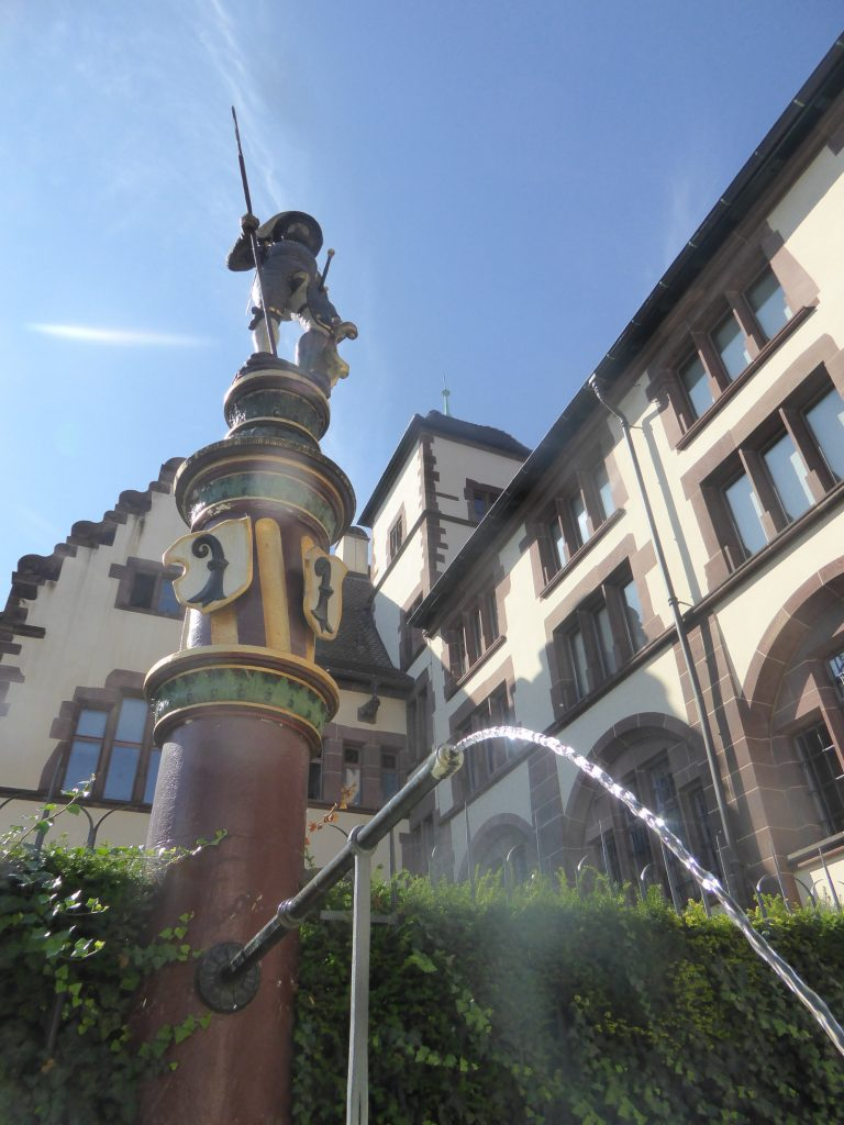 one of over 300 fountains in Basel, Switzerland