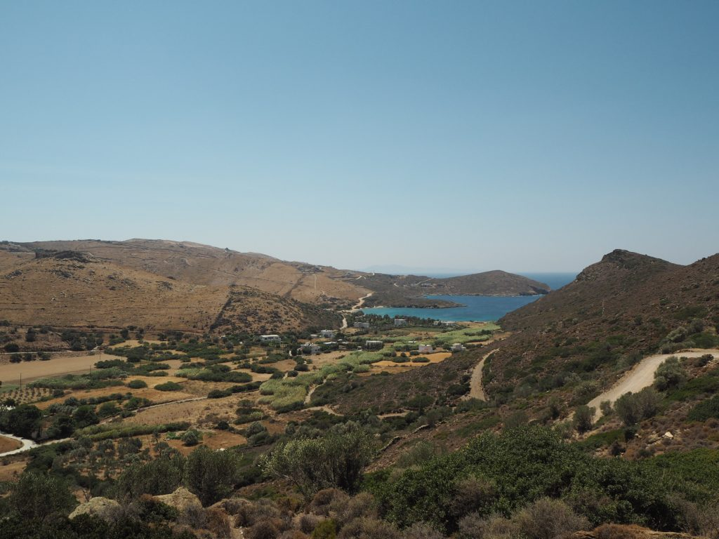 the view from Heliadas villas, Andros