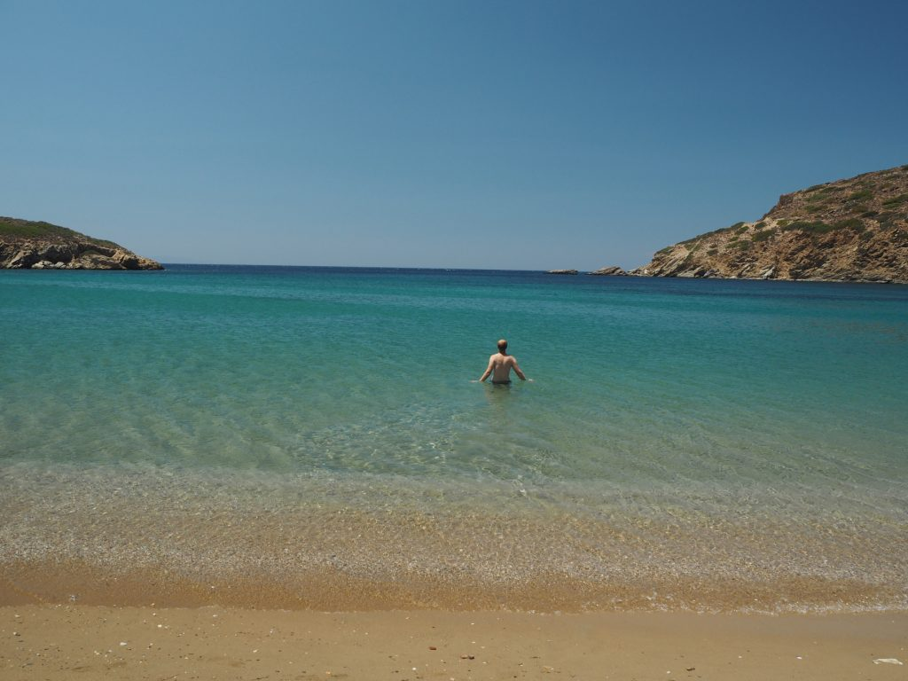Fellos beach, Andros