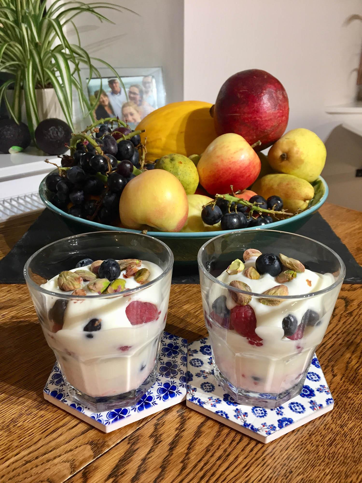 Slimming world yoghurt dessert