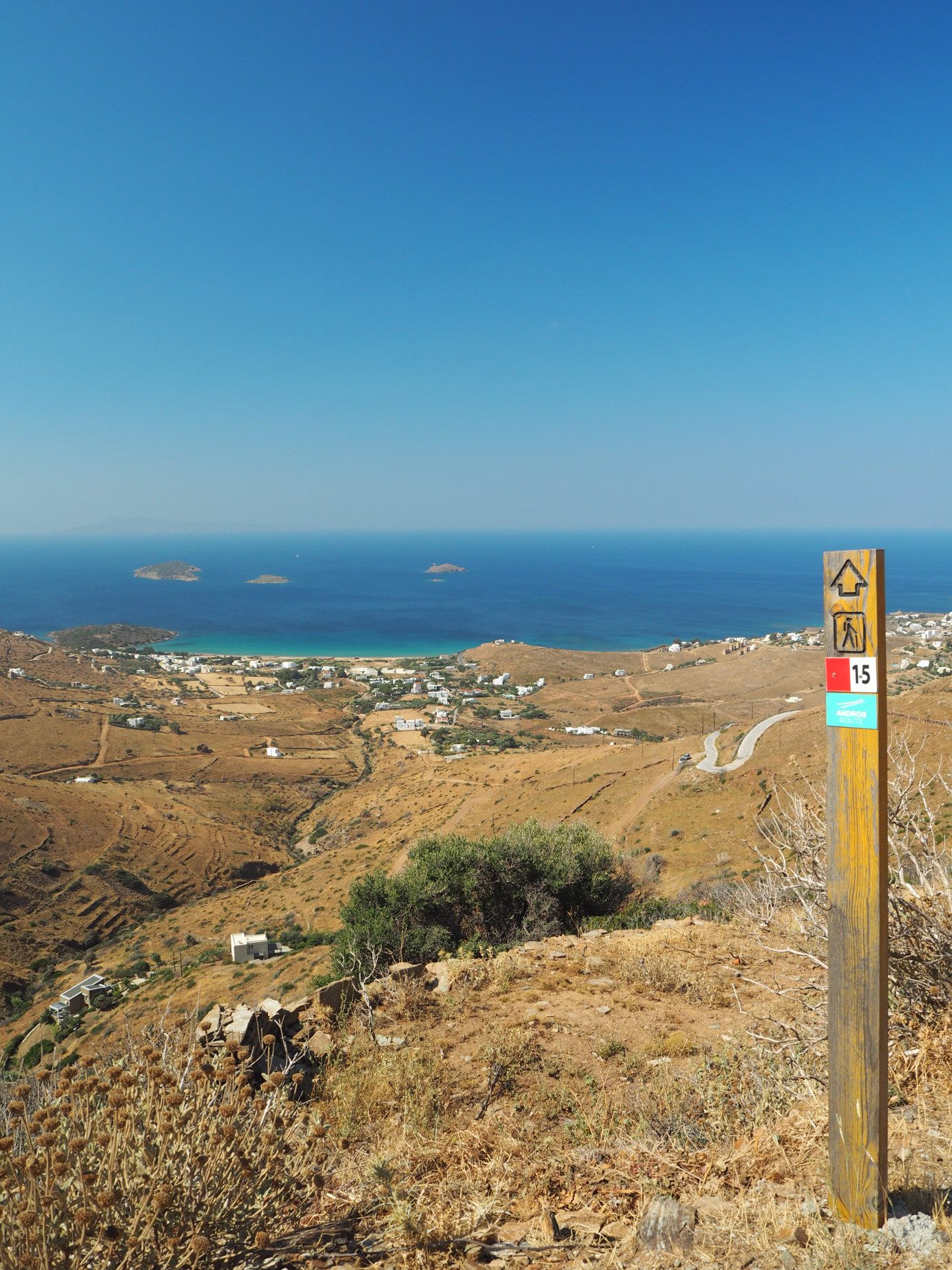 Best hiking trails in Andros - route 15