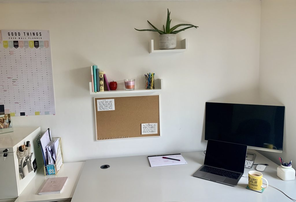 you don't need a fancy desk to be productive