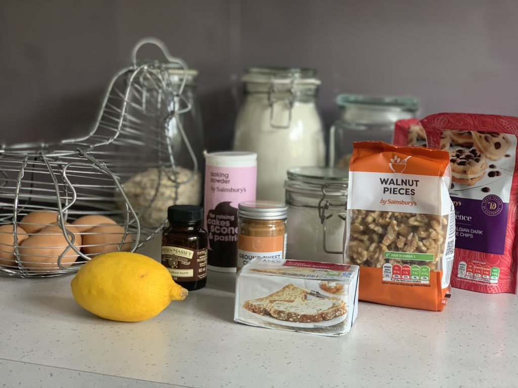 Ingredients for DoubleTree Cookie Recipe