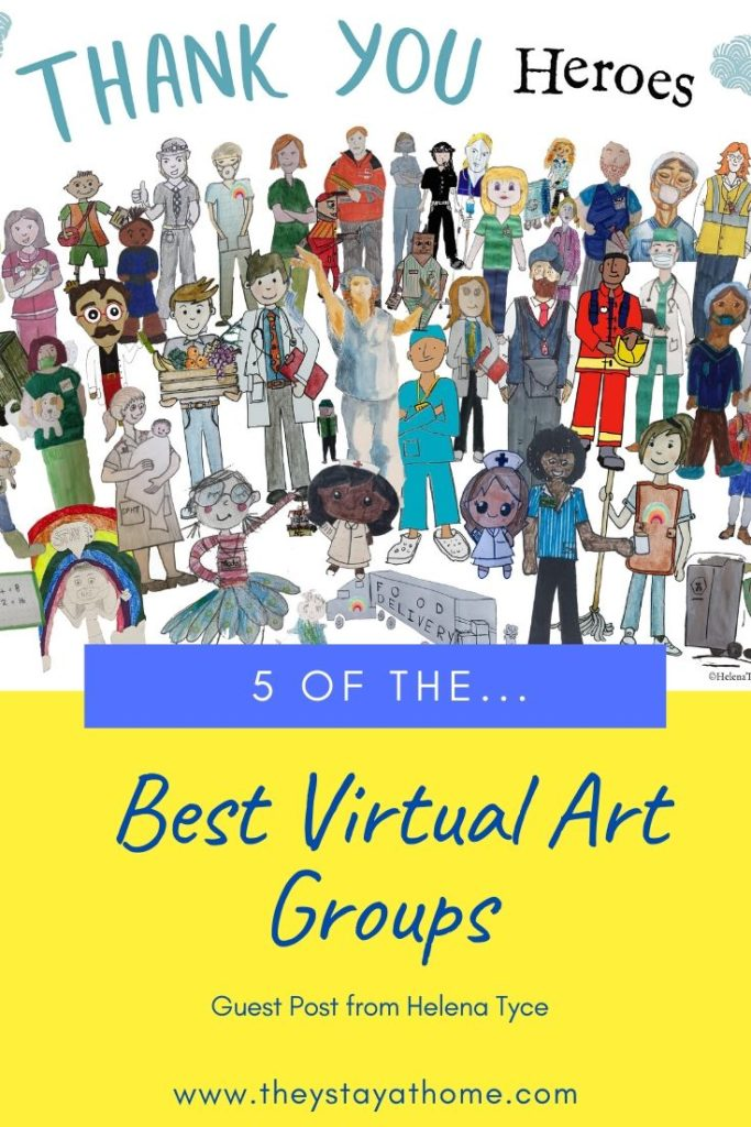 5 of the Best Virtual Art Groups