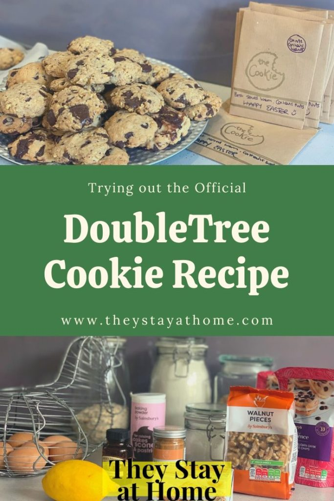 Trying out the official doubletree cookie recipe