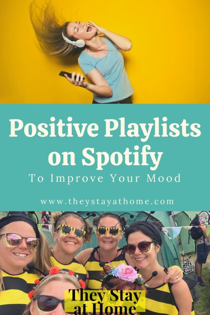 Uplifting Positive Playlists on Spotify to Improve Your Mood