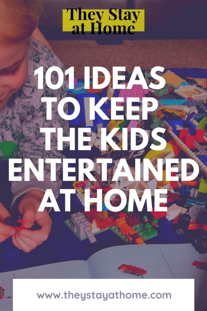 101 fun things to entertain the kids at home
