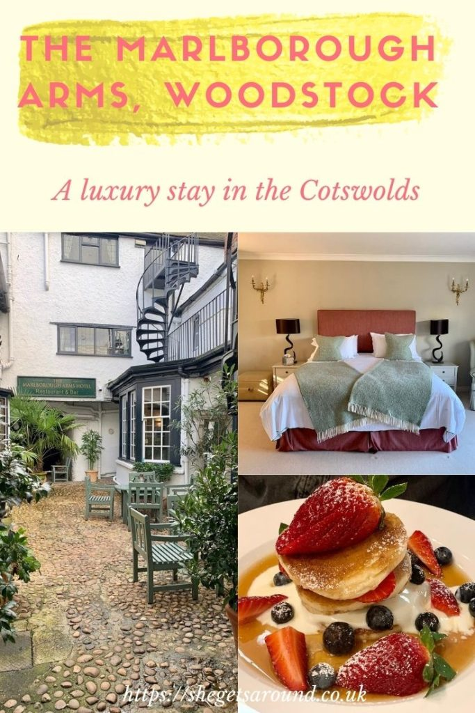 A luxury stay at The Marlborough Arms, Woodstock