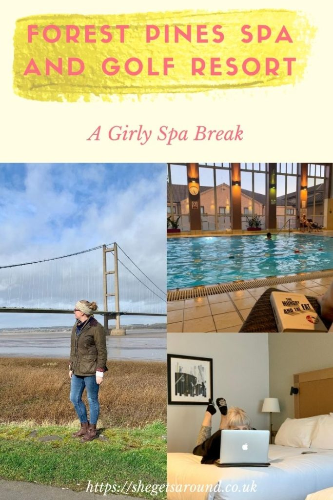 Girly spa break at Forest Pines Spa and Golf Resort