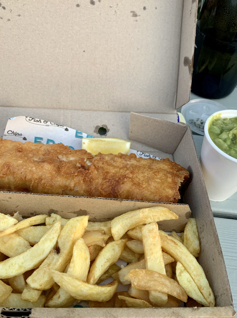 erics fish and chips - dog friendly places to eat in norfolk