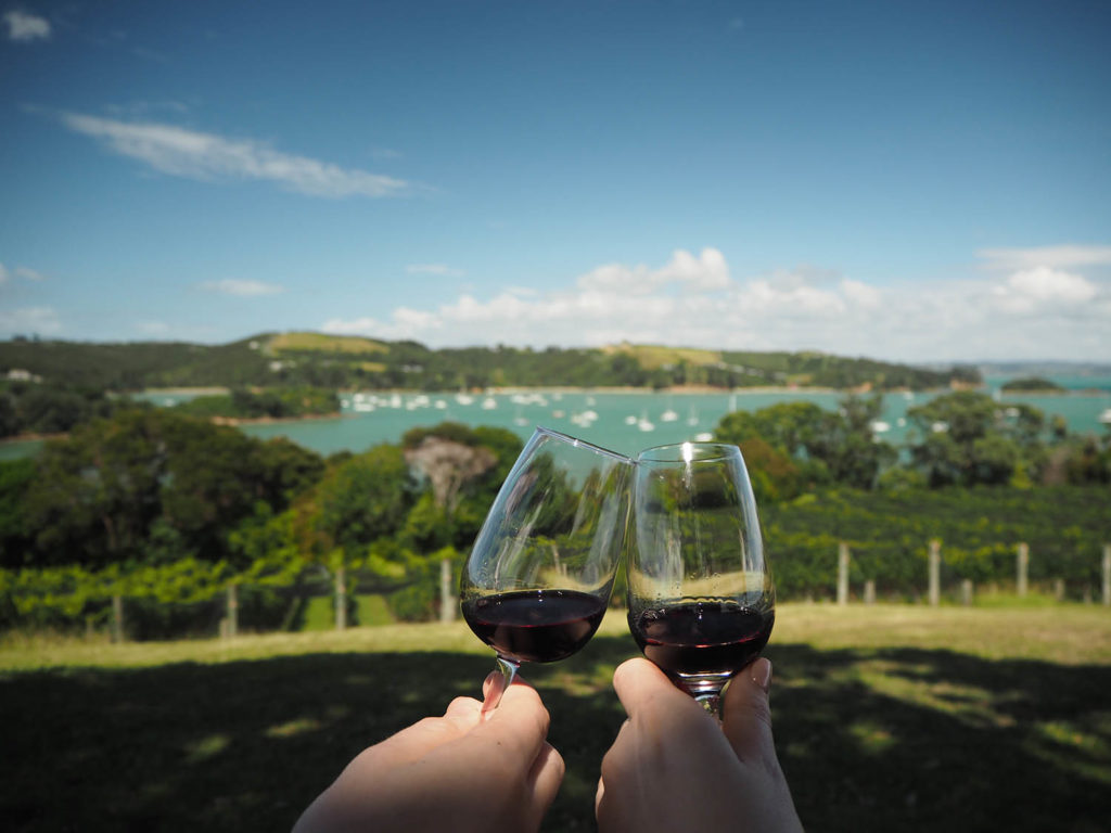 Goldie Winery in Waiheke Island, New Zealand