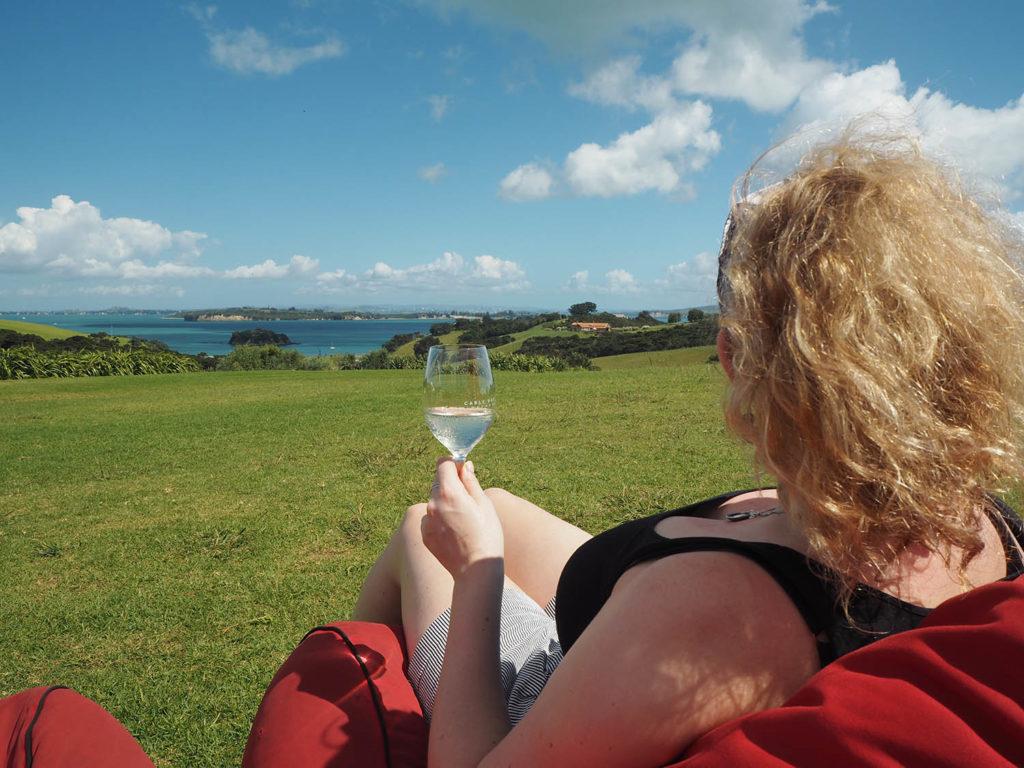 Cable Bay winery on Waiheke Island, New Zealand