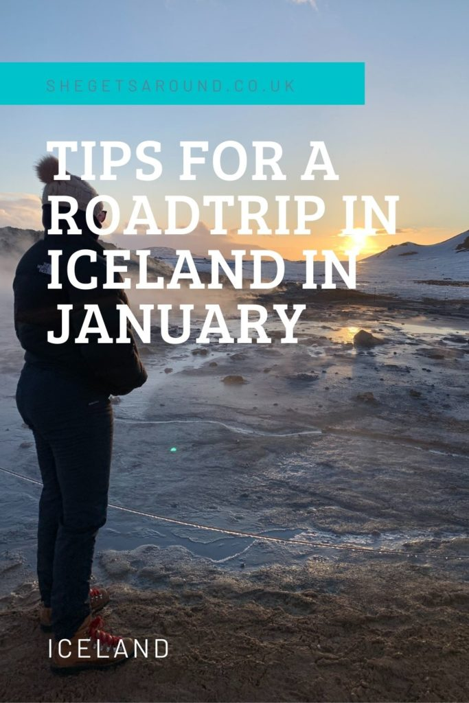 Tips for a road trip in Iceland in January