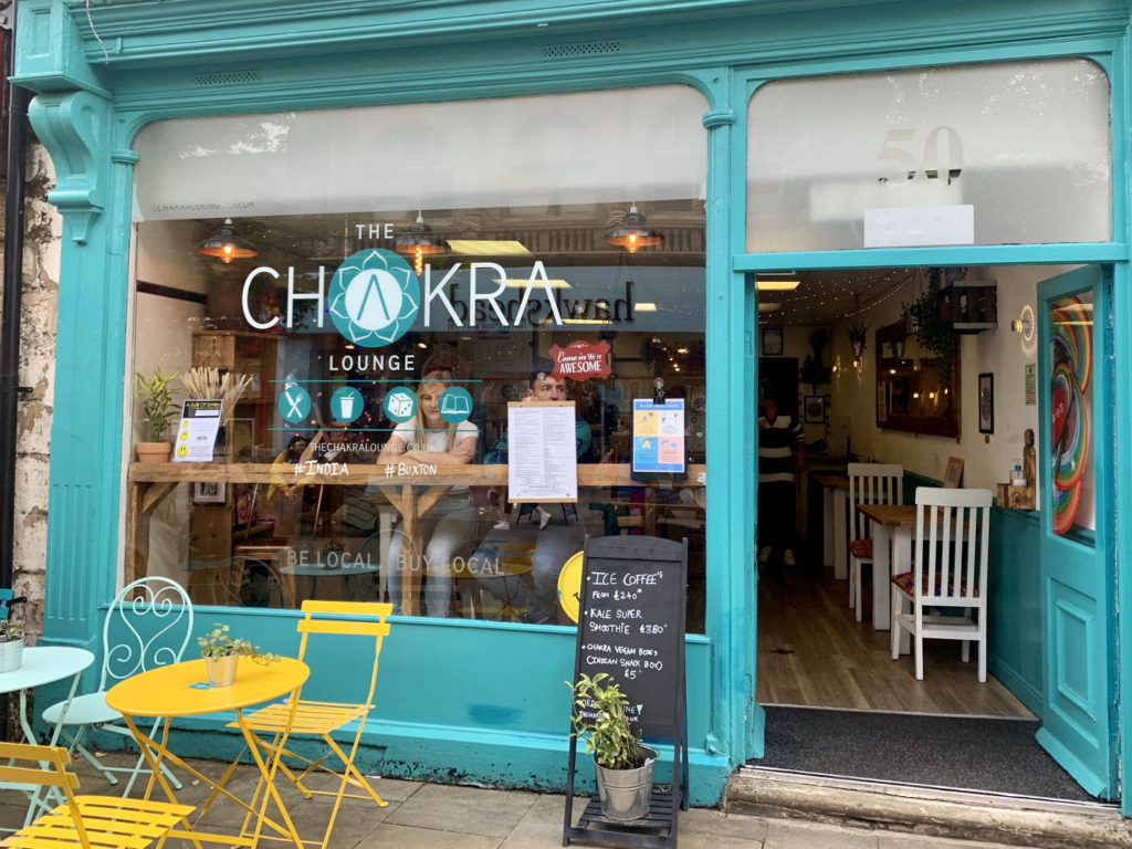 Chakra lounge cafe in Buxton