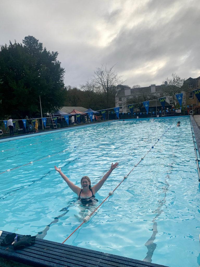 The New Bath Hotel Lido in Matlock Bath