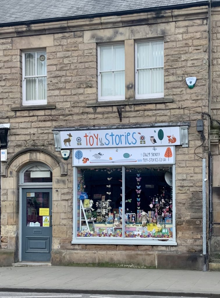 The best bookshop in Matlock - Toy Stories