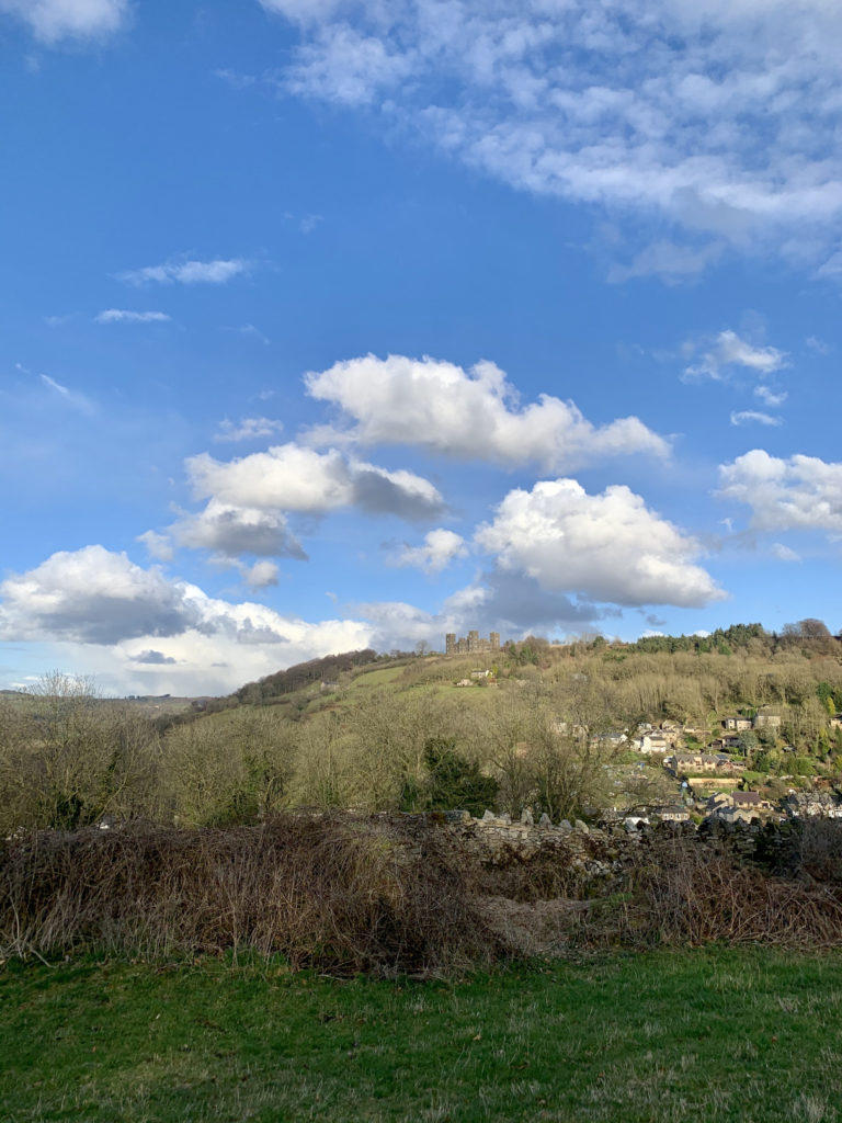 Views of Riber Castle from Matlock - why Matlock is the best place to live