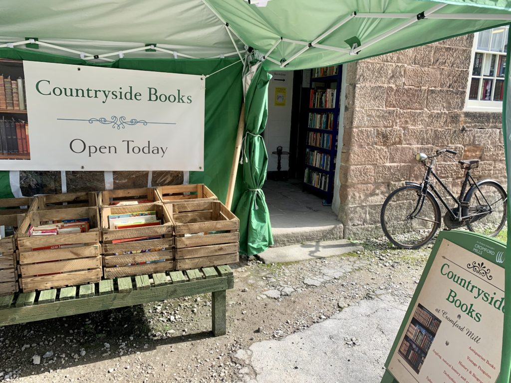 Countryside books in Cromford Mill