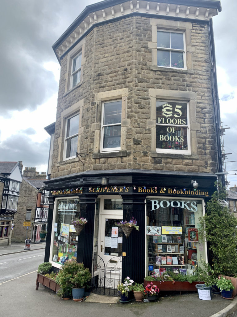 Scriveners Bookshop in Buxton, Derbyshire