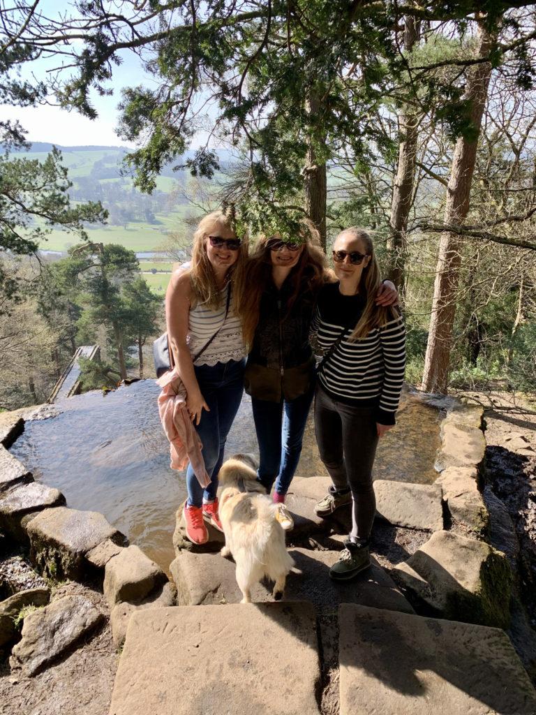 Friends on a Chatsworth walk